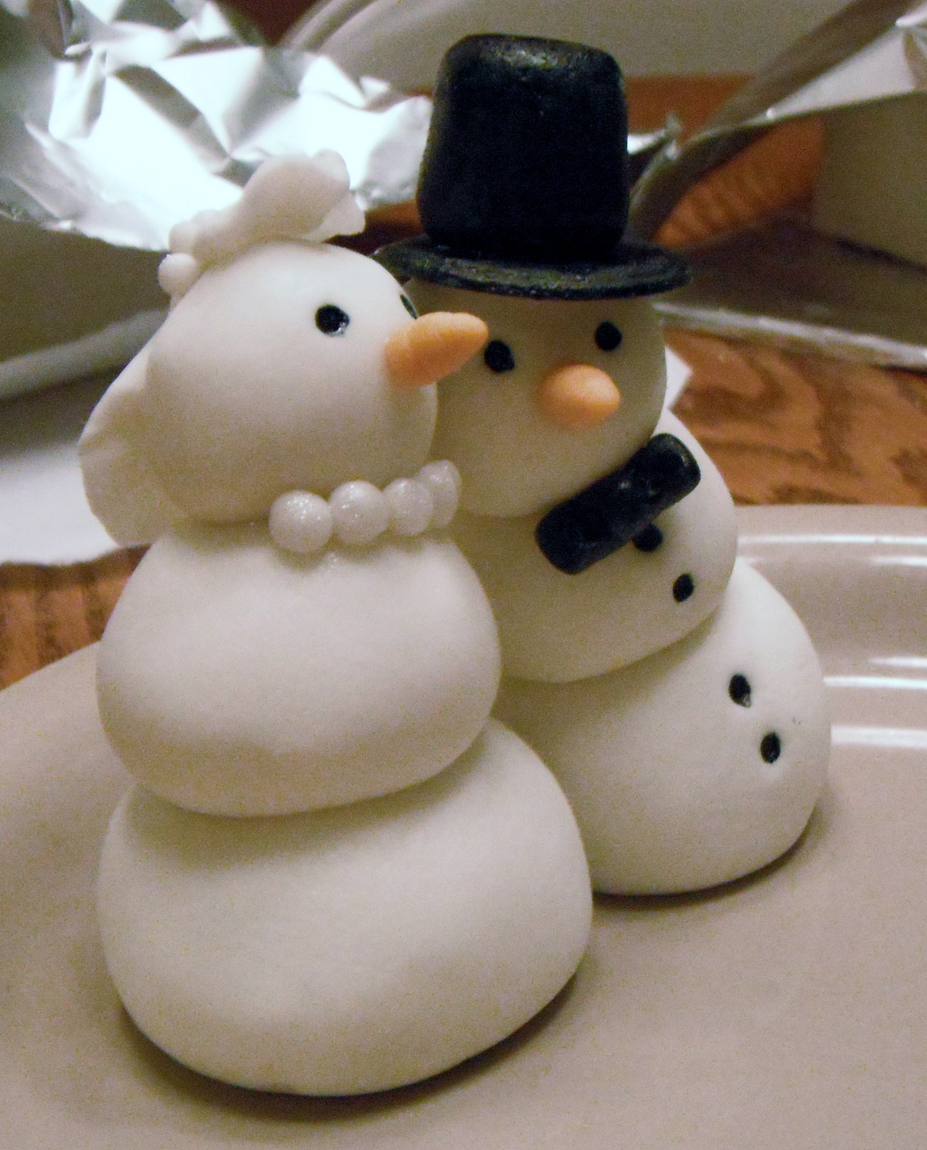 Snowman Decorated Cakes