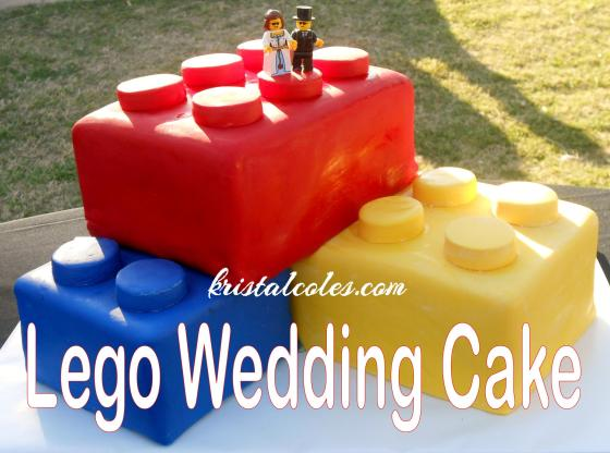 Lego Wedding Cake kristalcoles.com
