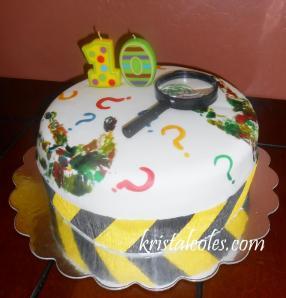 CLUE Cake - kristalcoles.com